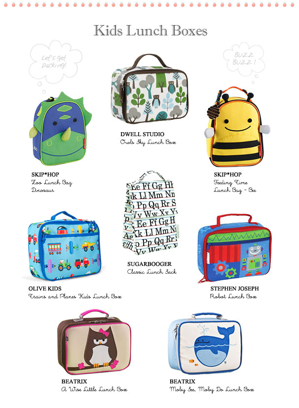 Bag Packs Lunch Bags And Menu S For Back To School La Petite Peach