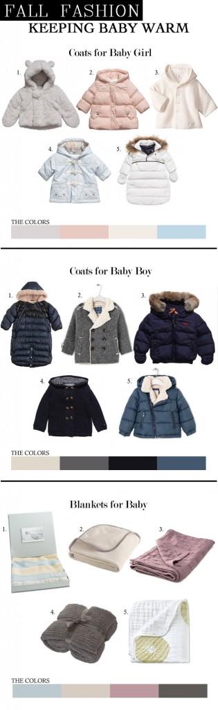 Baby Fall Fashion 2013 Jackets And Blankets La Petite Peach