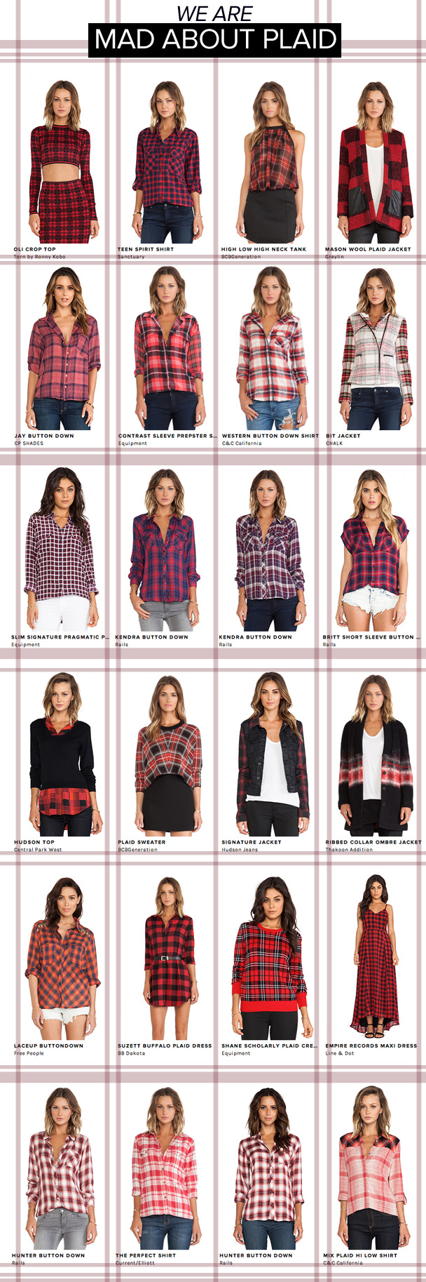 La Petite Peach_Mad about Plaid 1