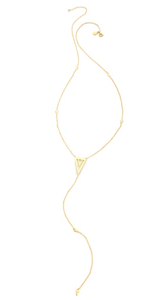 Mika Statement Lariat Necklace