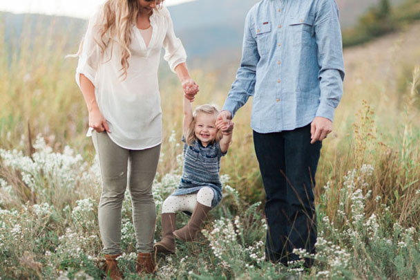 Utah Mountains Family Session