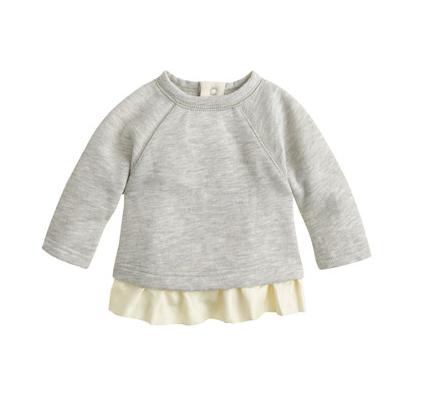 Baby Ruffle Sweatshirt