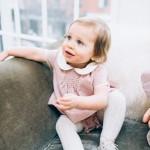 La Petite Peach_Cambria Grace Photography_Pink Tweed Dress 1