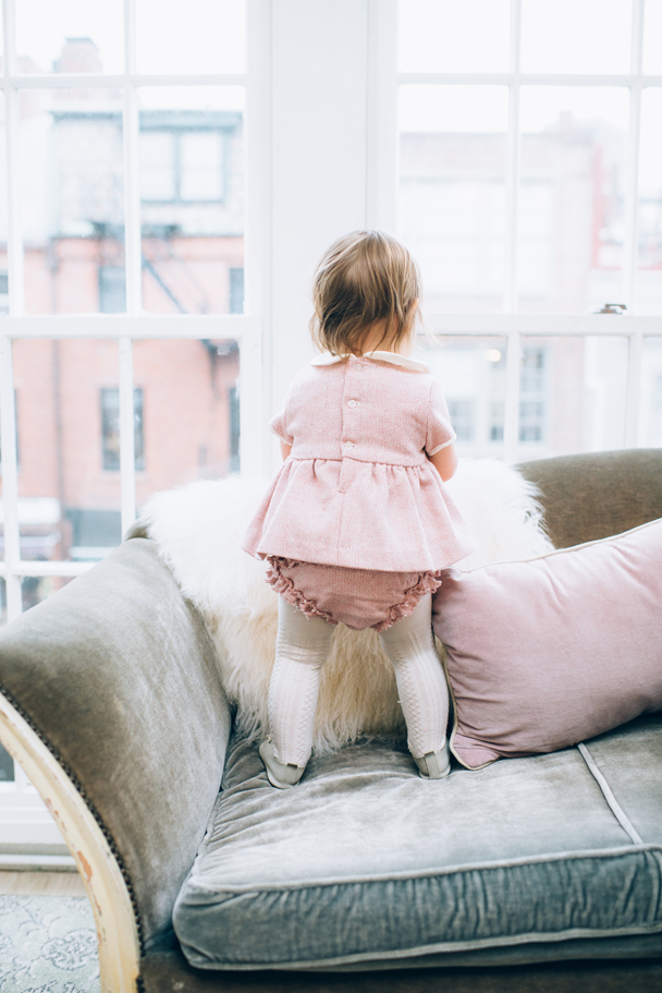 La Petite Peach_Cambria Grace Photography_Pink Tweed Dress 15