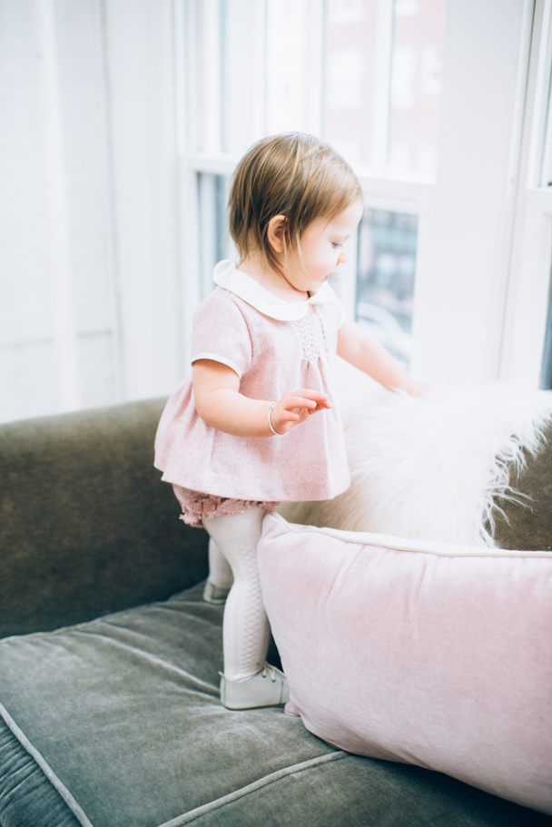 La Petite Peach_Cambria Grace Photography_Pink Tweed Dress 5