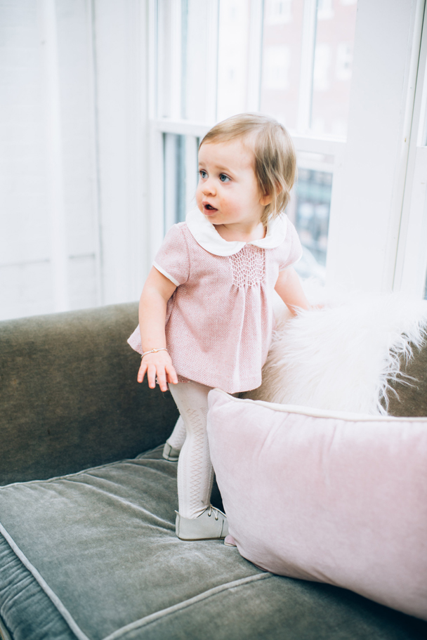 La Petite Peach_Cambria Grace Photography_Pink Tweed Dress 6