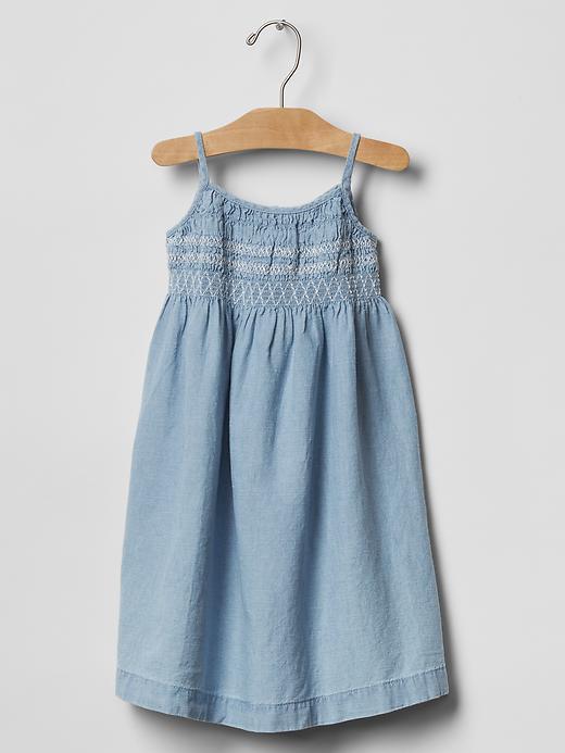 Cotton-Linen Trapeze Dress