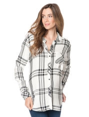 Rails Long Sleeve Button Front Maternity Shirt