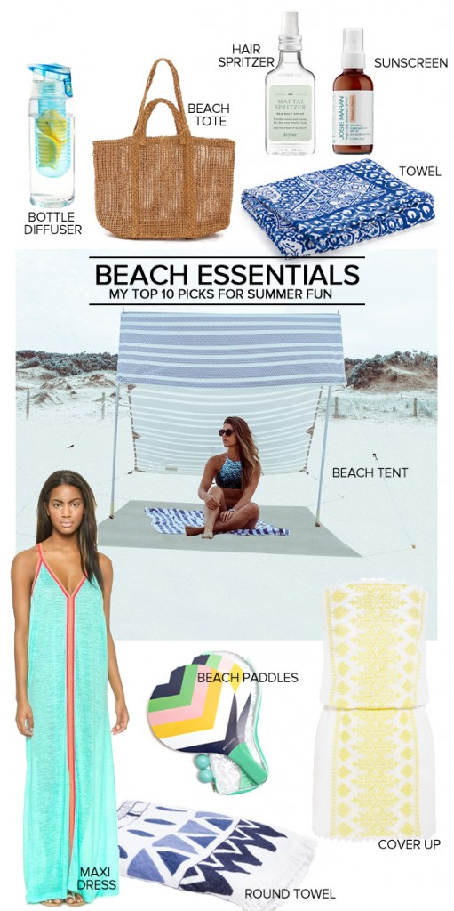 Top 10 Beach Essentials