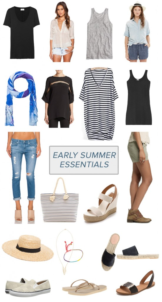 Early Summer Essentials