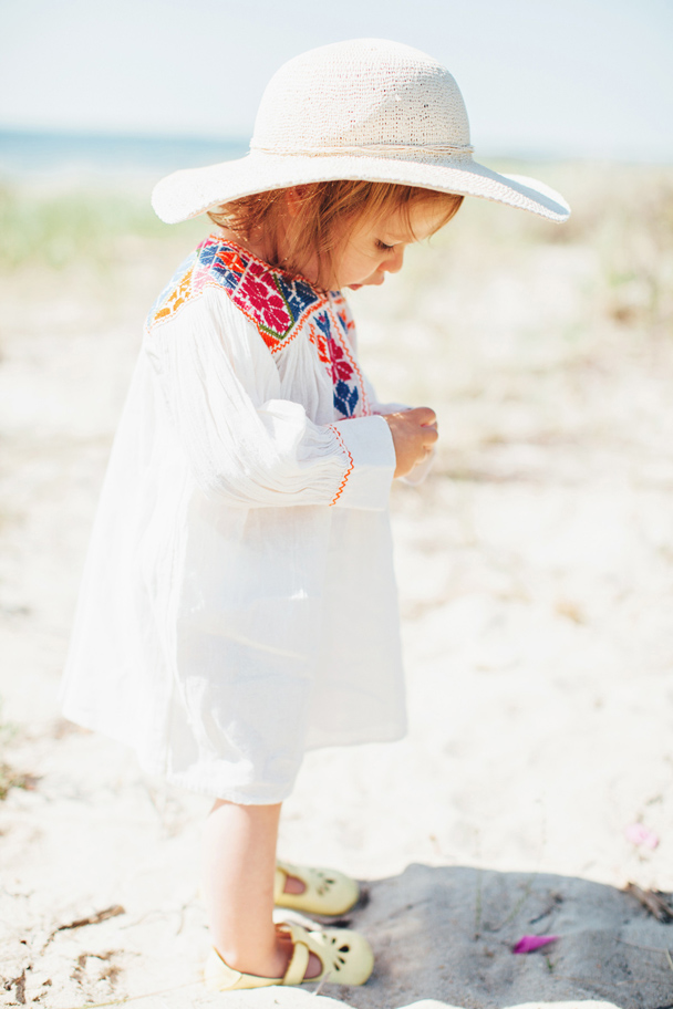 La Petite Peach_Wesleigh in an Embroidered Dress 10
