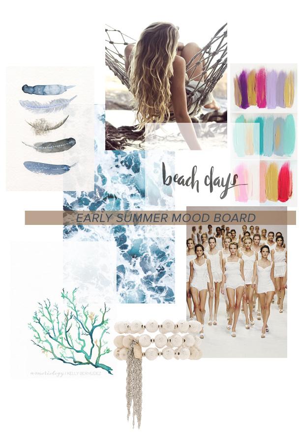 La Petite Peach_early summer Mood Board
