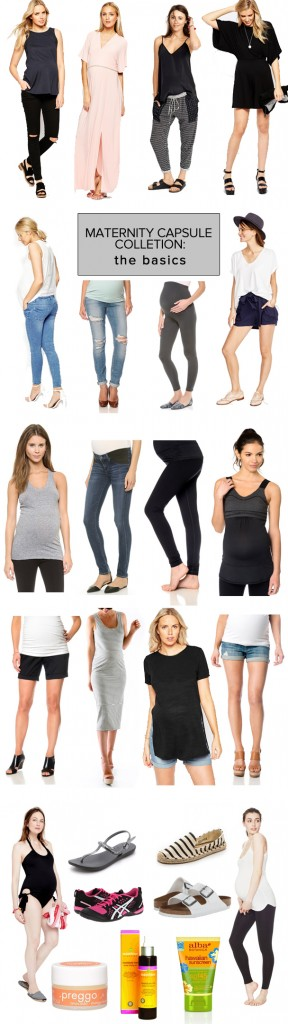 Maternity Capsule Collection: The Basics