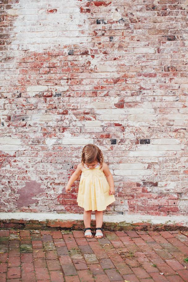 La Petite Peach_Yellow Dress 1