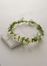 Paperwhites Floral Crown