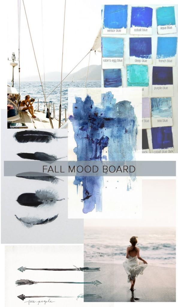 Fall Mood: Indigo Ocean