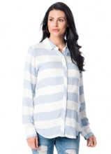 RAILS Long Sleeve Maternity Shirt