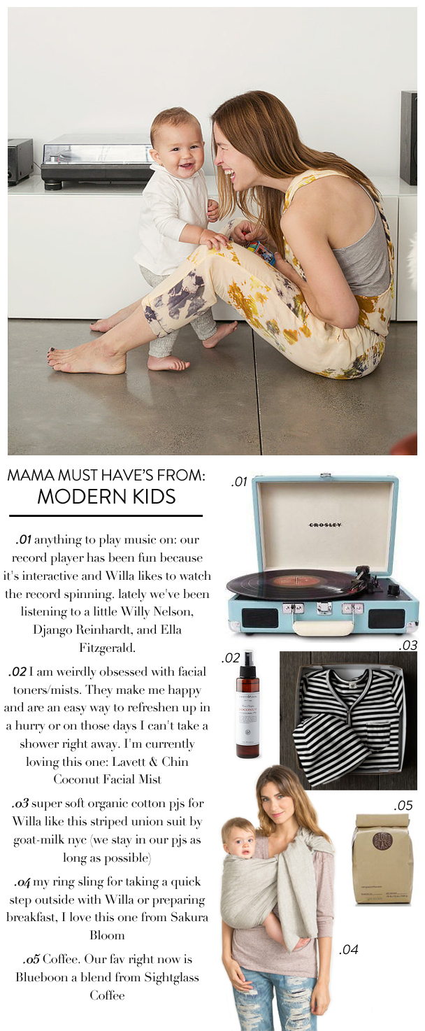 La Petite Peach_Modern Kids 5 things