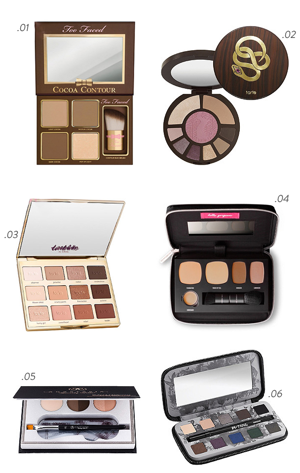 La Petite Peach_6 must have make up palettes