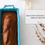 La Petite Peach_Healthy Banana Flax Bread Recipe