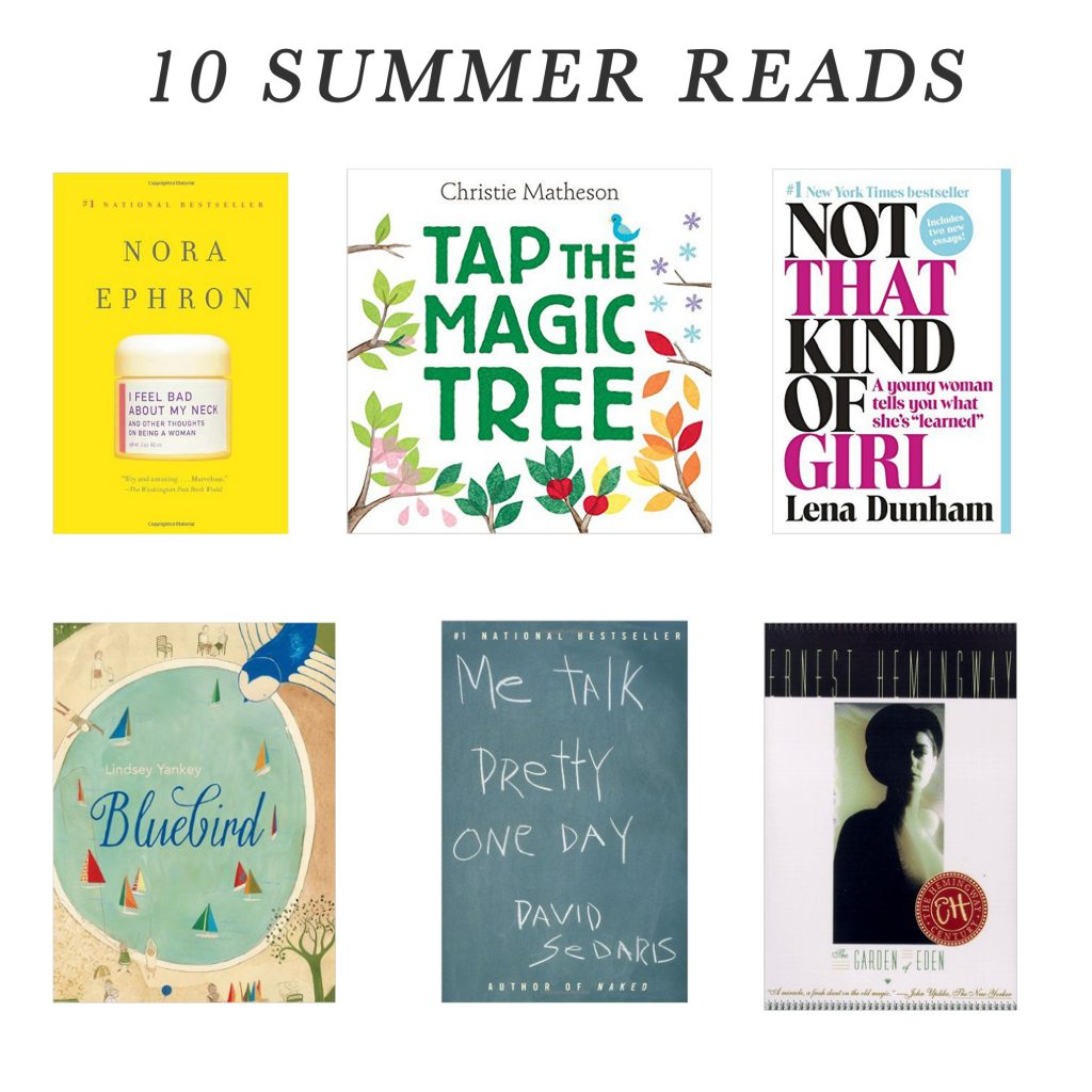10 Must Have Summer Reads