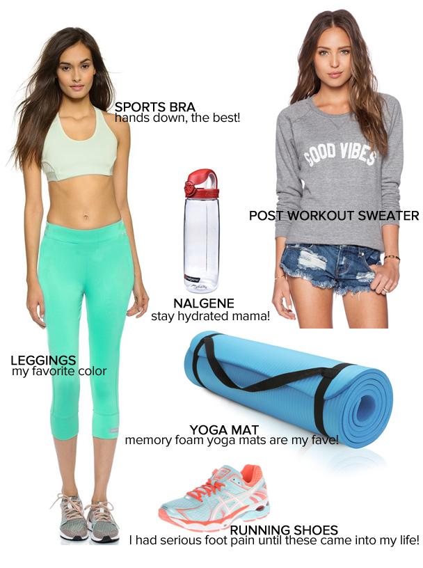 La Petite Peach_All about the fitness_mama essentials