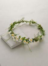 Paperwhites Floral Crown