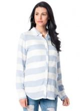 RAILS Long Sleeve Maternity Shirt