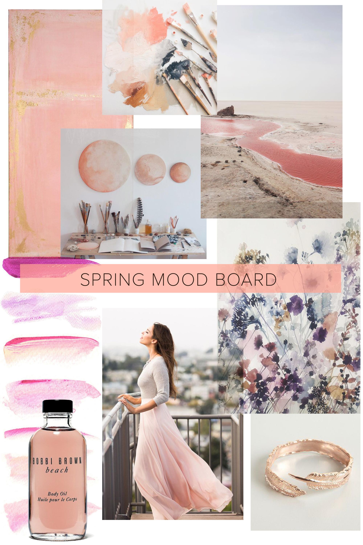 La Petite Peach_Spring mood board