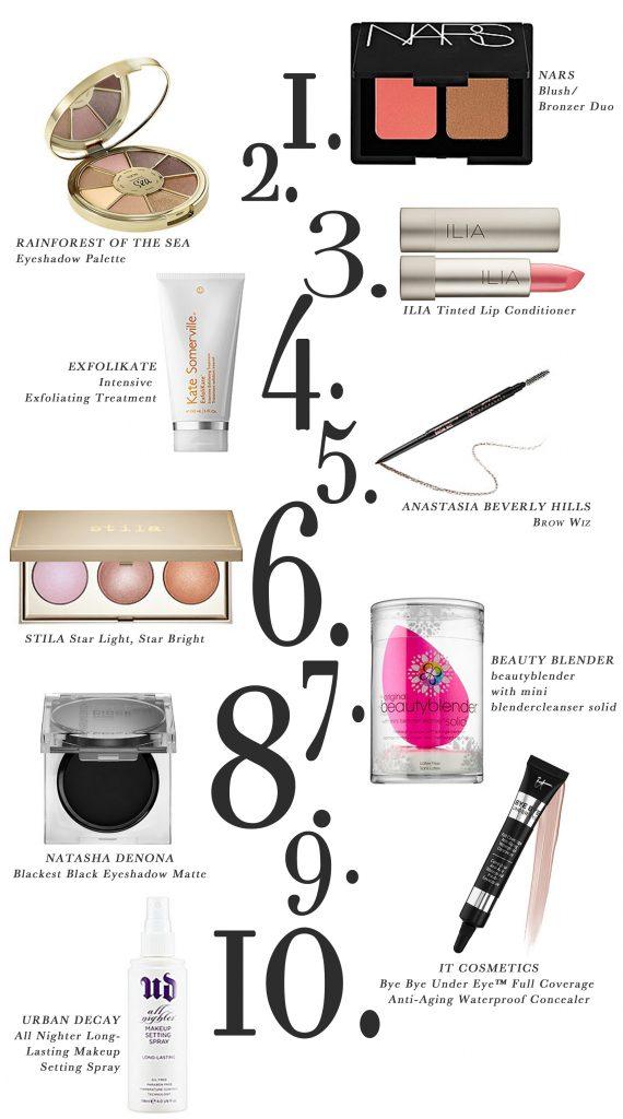 Fall Make-up Favorites